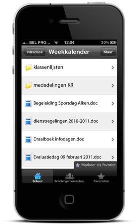 Nieuwe versie Smartschool iPhone App
