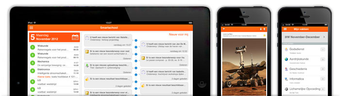 Smartschool op iPad en iPhone