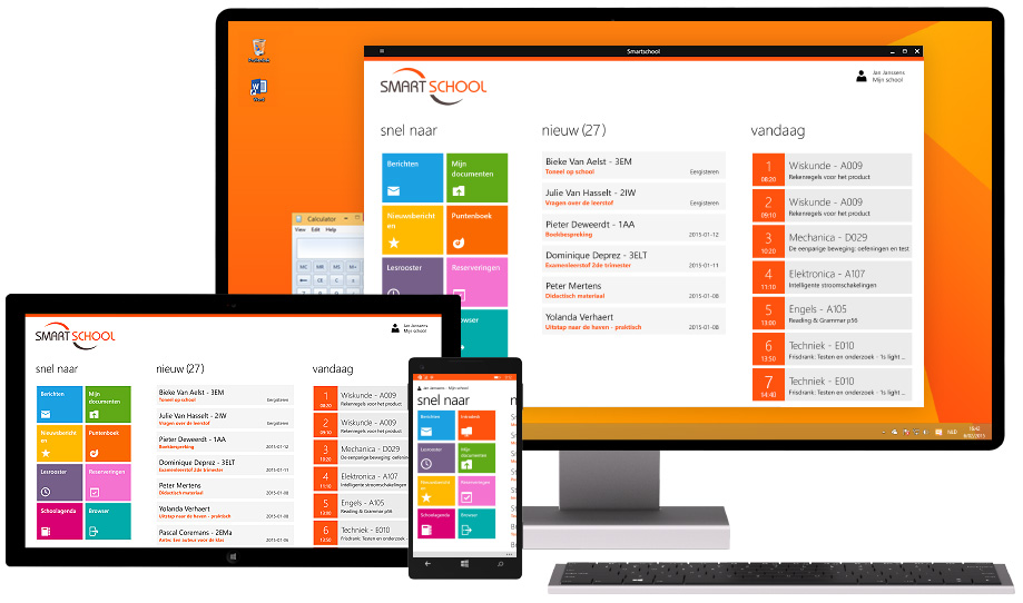 Smartschool App voor Windows