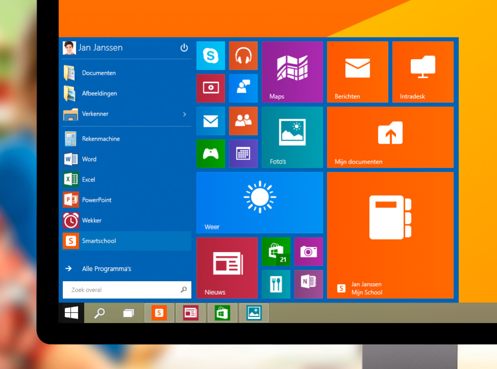 Startmenu Windows 10