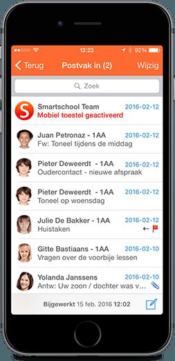 Smartschool App op iPhone