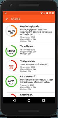 Smartschool App op Android
