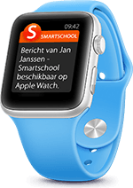 Smartschool App op Watch