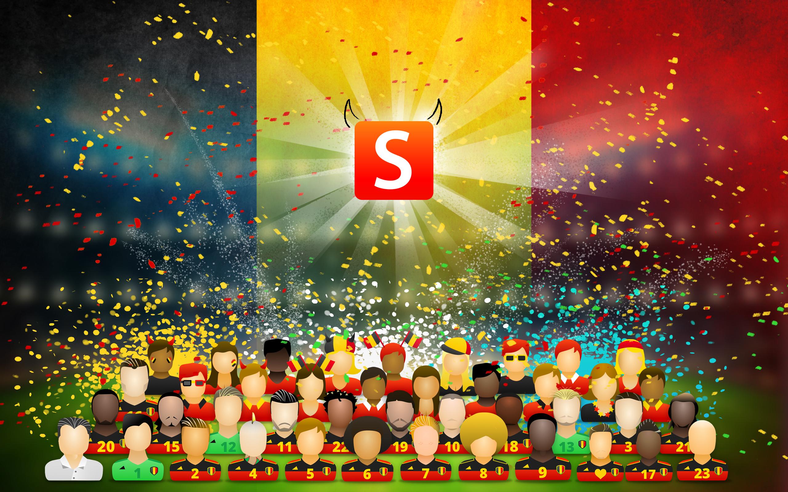Wallpaper Smartschool EK fans celebration