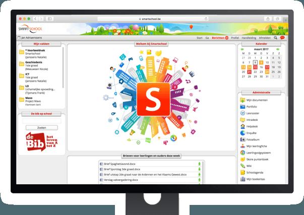 Startpagina Smartschool